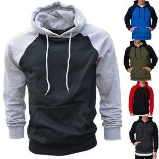 Sport Kapuzenpullover Sweatjacke Hoodie Sweatshirt Pullover Pulli Herren 902
